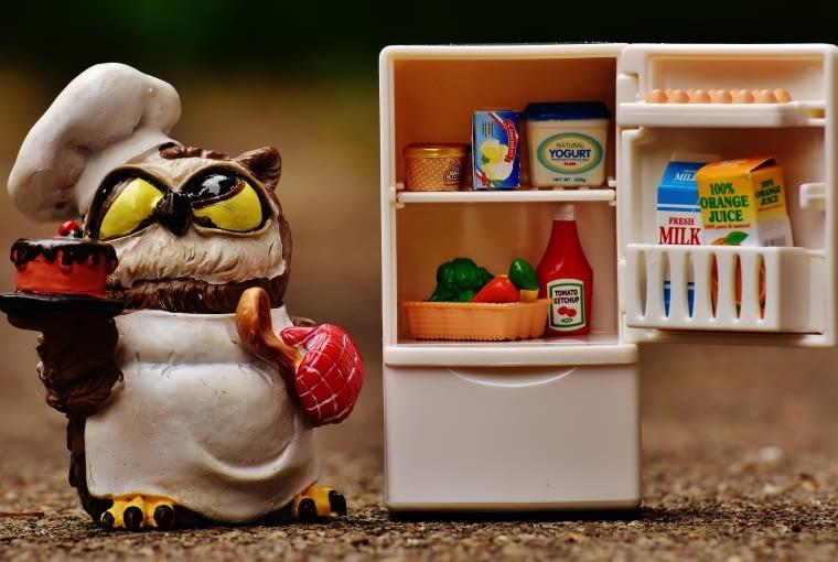 8. Nie wkładaj gorących potraw do lodówki. Powinny być w temperaturze pokojowej.