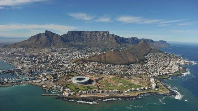 Stadion piłkarski w Cape Town, RPA, 2010, proj. GMP Architects i Louis Karol, Point Architects and Urban Designers