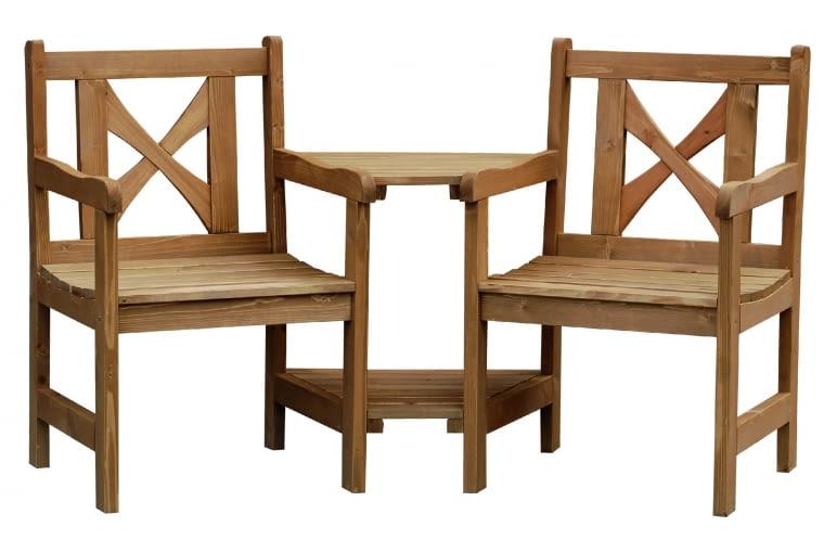VENECIA, drewno, stolik (49 x 59,5 cm) i2 krzesła 599 zł/zestaw Leroy Merlin