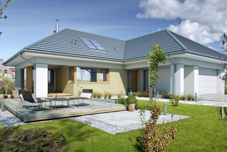 projekt domu, poddasze do adaptacji