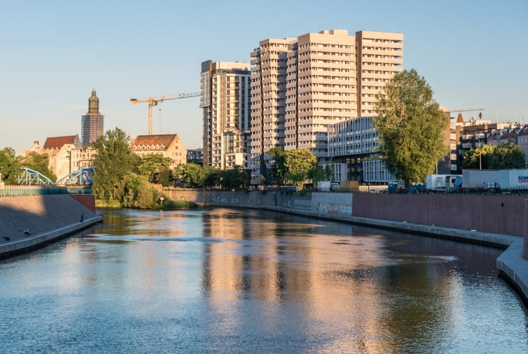 Atal Towers we Wrocławiu. Proj. AP Szczepaniak.