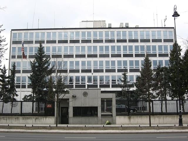 ambasada, usa, stany zjednoczone, warszawa