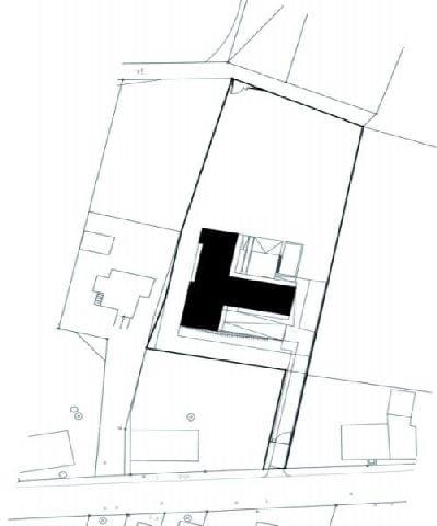 Plan domu - usytuowanie w terenie