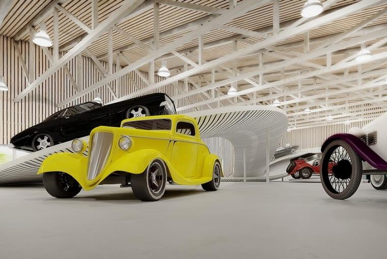 Pomorskie Muzeum Motoryzacji - wizualizacja.