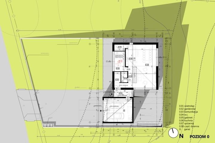 Projekt nowoczesnego domu na Śląsku