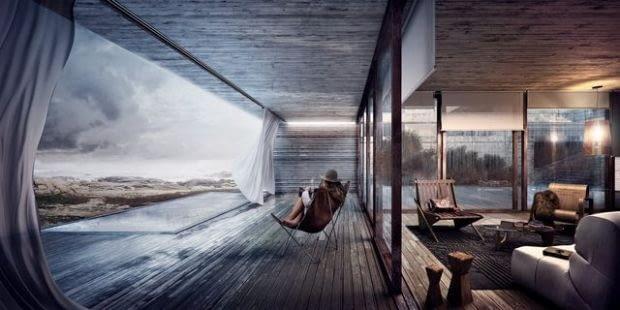 Grupa NOTOS otrzymała nominację za wizualizację urugwajskiego domu na wybrzeżu.
