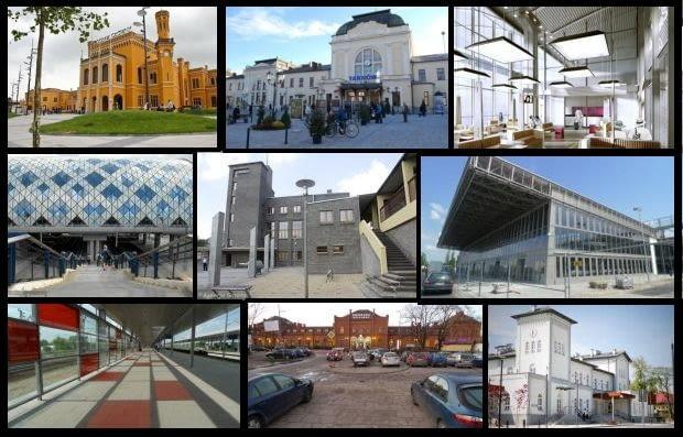Najpiękniejsze dworce kolejowe w Polsce