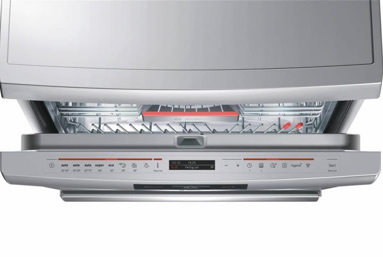 SMS88TI03E, wolno stojąca, szer. 60 cm, klasa A+++, poj. 13 kompletów naczyń, zużycie wody na cykl 7,5 l, 8 programów, 4919 zł, Bosch