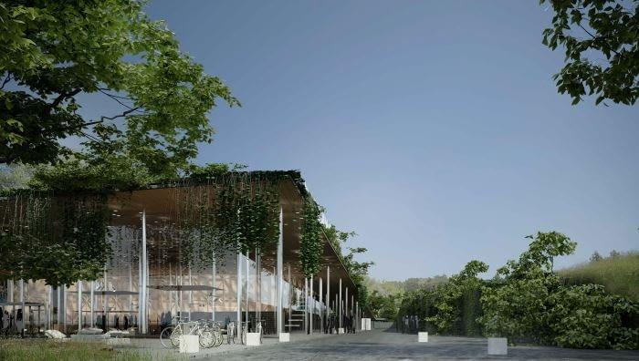 Projekt Międzynarodowego Centrum Muzyki w Żelazowej Woli