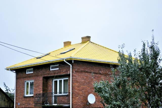 Dach można przemalować na jeden z kilku dostępnych kolorów