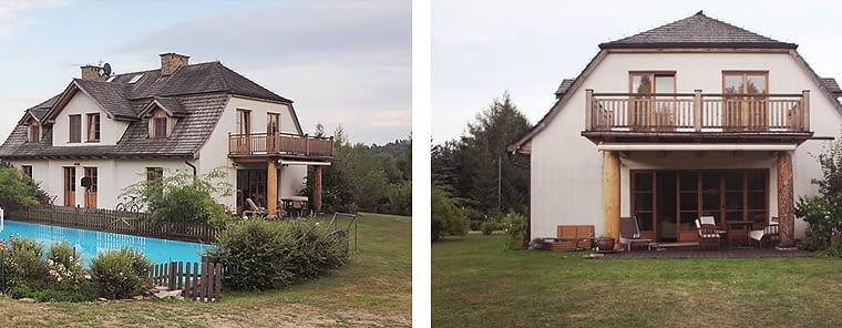Projekt rozbudowy starego domu - stan istniejący