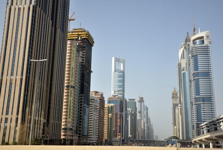 Dubaj, największe na Świecie, burj dubai, wieżowce, emiraty arabskie, architektura, Sheikh Zayed Road