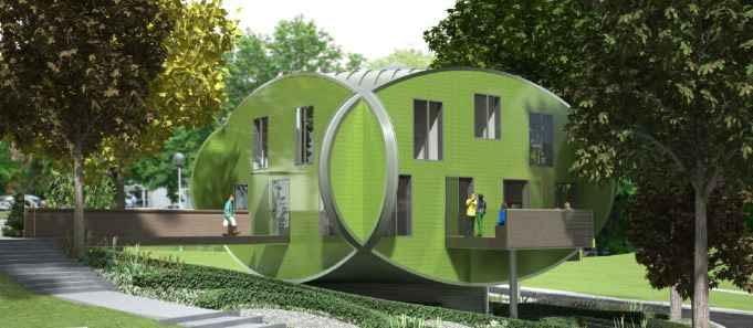 nottingham, projekt, wielka brytania, architekt, budynek, czwg architects, gough