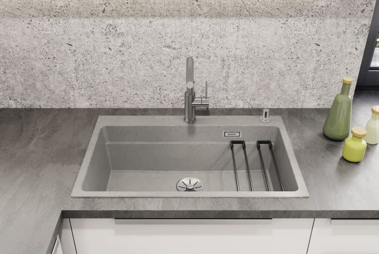 Postindustrialny trend wkracza do kuchni. Beton w roli głównej