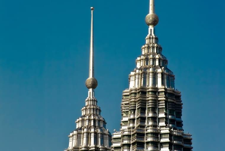Petronas Towers,Cesar Pelli, Kuala Lumpur