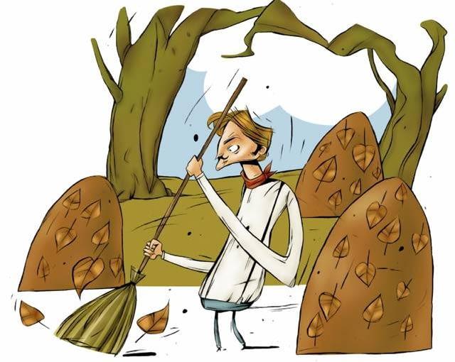 W ramach jesiennych porządków czeka nas sprzątanie opadających liści i pracowite przekopywanie rabat