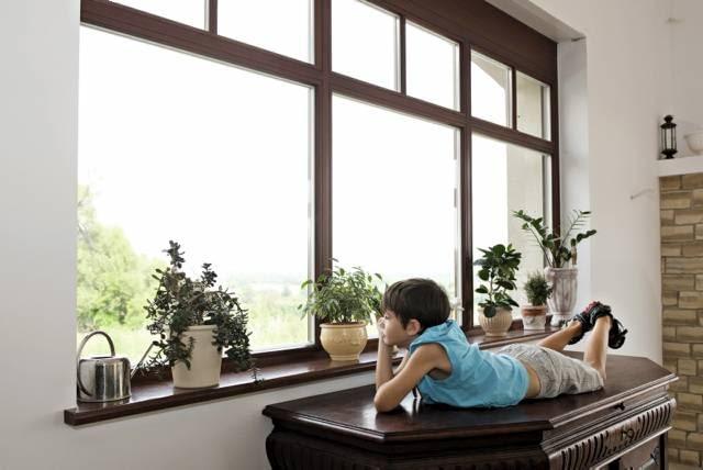 Im większe okna, tym bardziej wytrzymałe muszą być profile