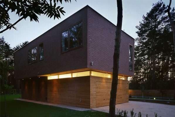 Dom w Józefowie koło Warszawy, projekt- HS99 (2008)