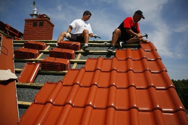 dachówka ceramiczna, dach, pokrycie dachowe