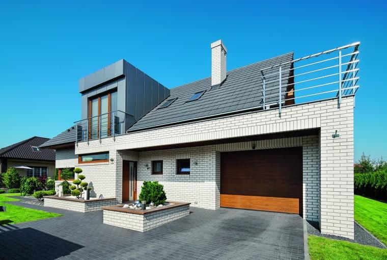 7 ładnych domów z dobrze dobranym bramami