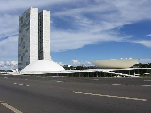 oscar niemeyer, brasilia, kongres, modernizm