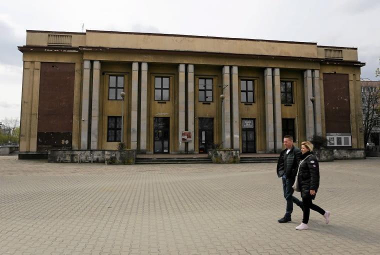 12.04.2017 Krakow , os. Centrum E . Muzeum PRL - u . Fot. Jakub Porzycki / Agencja Gazeta SLOWA KLUCZOWE: muzeum prl