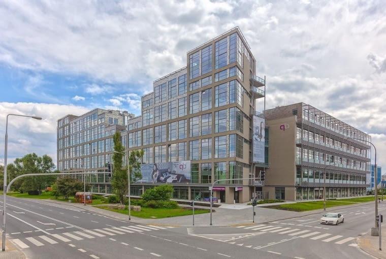 Apartamentowiec Woronicza Qbik w Warszawie.