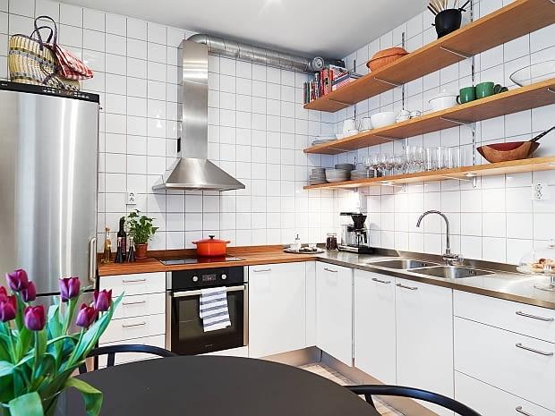 mieszkanie z charakterem, mieszkanie w skandynawskim stylu, jasne mieszkanie, jak urządzić mieszkanie,