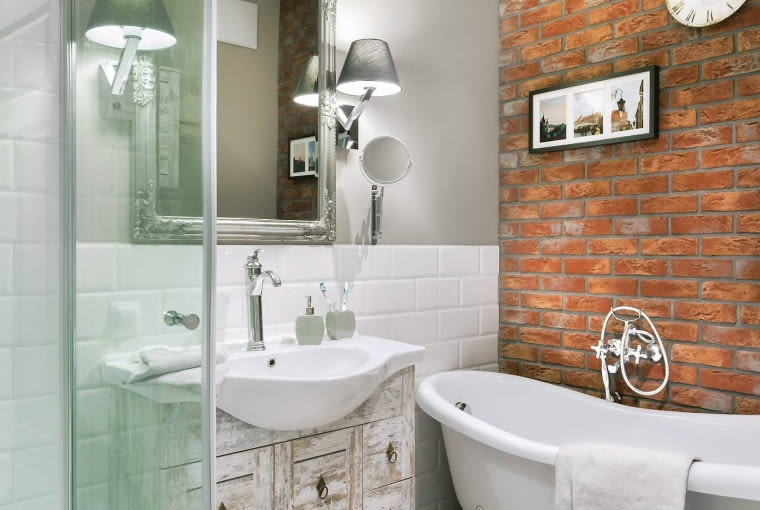 oświetleni łazienki, aranżacje łazienki