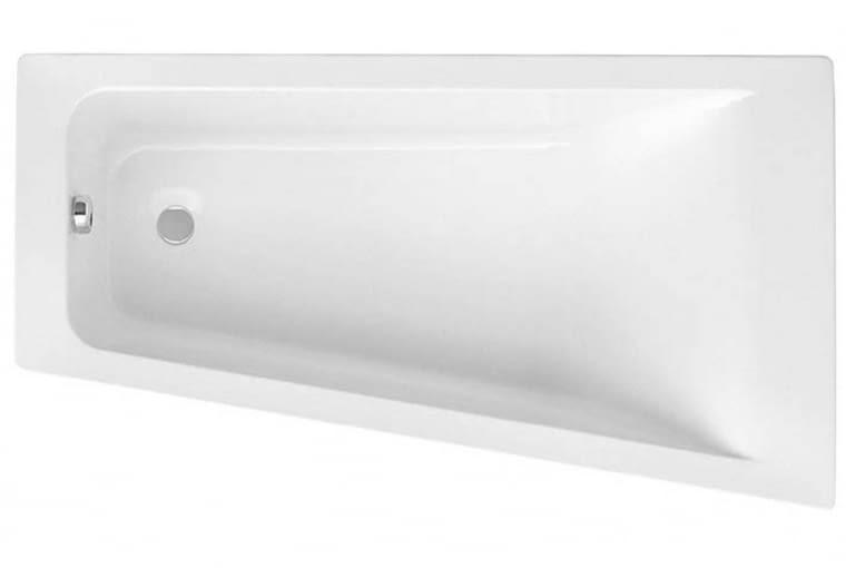 Easy/Roca. Wanna akrylowa, zaprojektowana jako prawy narożnik o wymiarach 150 x 80 cm; zestaw zawiera nóżki umożliwiające dostosowanie wysokości wanny zależnie od preferencji. Cena (netto): 950 zł, www.roca.pl
