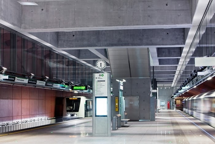 Linia metra M4, Budapeszt, źródło zdjęcia: mat. pras. 2018 RIBA International Prize, www.architecture.com
