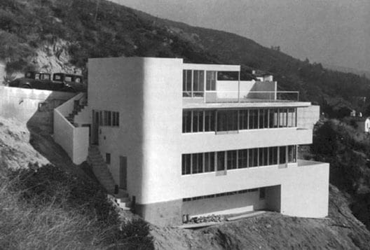 Kun House, proj. Richard Neutra