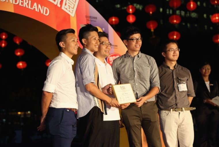Pawilon Rising Moon w Hong - zespół projektowy