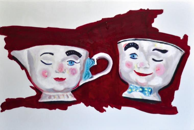 Bez tytułu, 60 x 40 cm, olej na płótnie, 2015