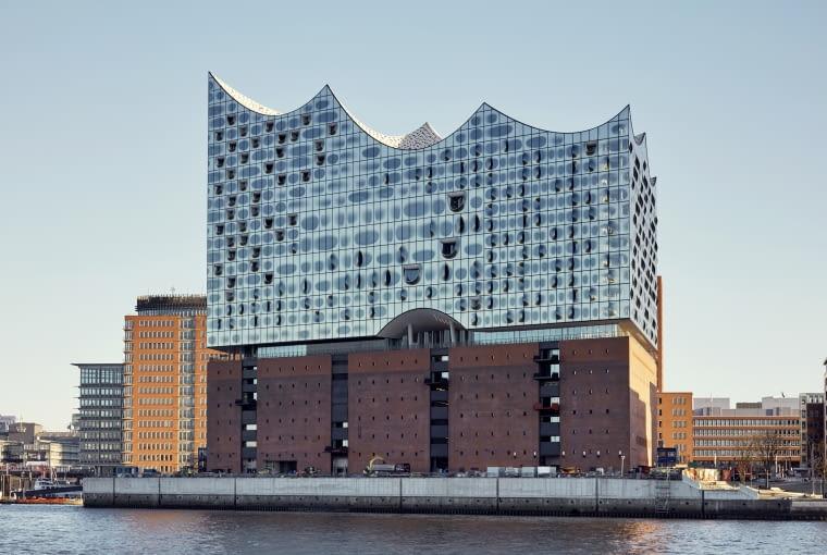 Elbphilharmonie- filharmonia w Hamburgu