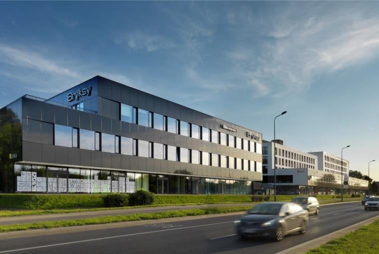 Wyróżnienie: budynek wielorodzinny nowy. Lipska 4-6-8 w Krakowie (projekt: UCEES, realizacja: Budimex)