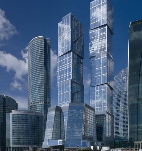 Capital City Towers, Moskwa, fot. www.nbbj.com