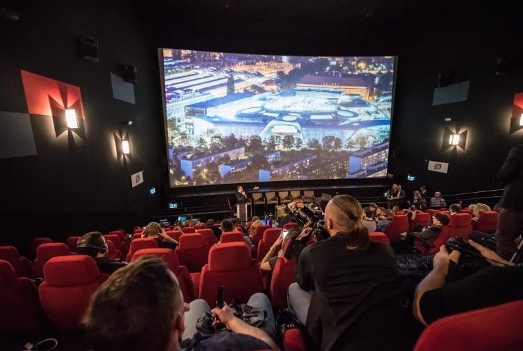 17.10.2017 Wroclaw .Centrum handlowe Wroclavia w przeddzien otwarcia . Cinema City . fot . Kornelia Glowacka-Wolf / Agencja Gazeta SLOWA KLUCZOWE: Wroclavia centrum handlowe Cinema City kino imax