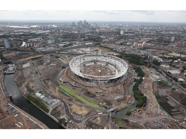 Londyn 2012 - Stadion olimpijski
