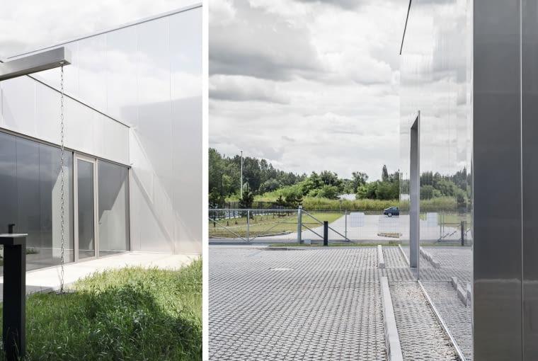 Budynek agencji reklamy FUX w Gliwicach.