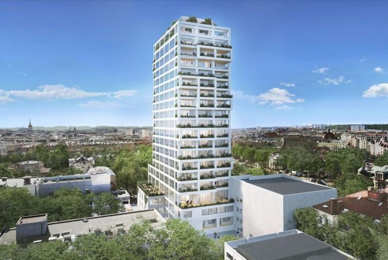 Tak będzie wyglądać Sky Garden w Szczecinie. Proj. Projektownia Architekci.
