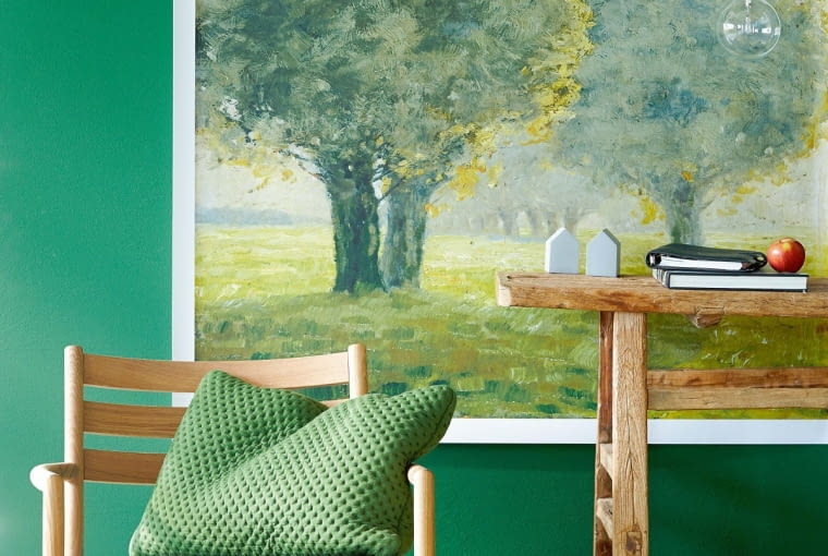 4Living room furniture in shades of green, 00457843