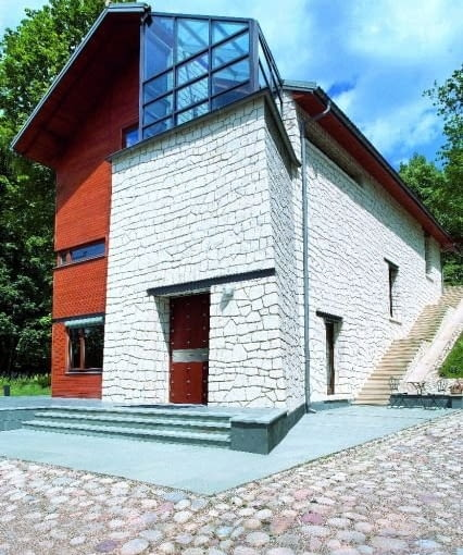 Dom własny Ewy i Stefana Kuryłowiczów, Kazimierz Dolny, 2006