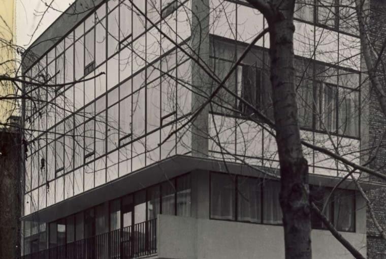 Budynek Fundacji Galerii Foksal w latach 60.
