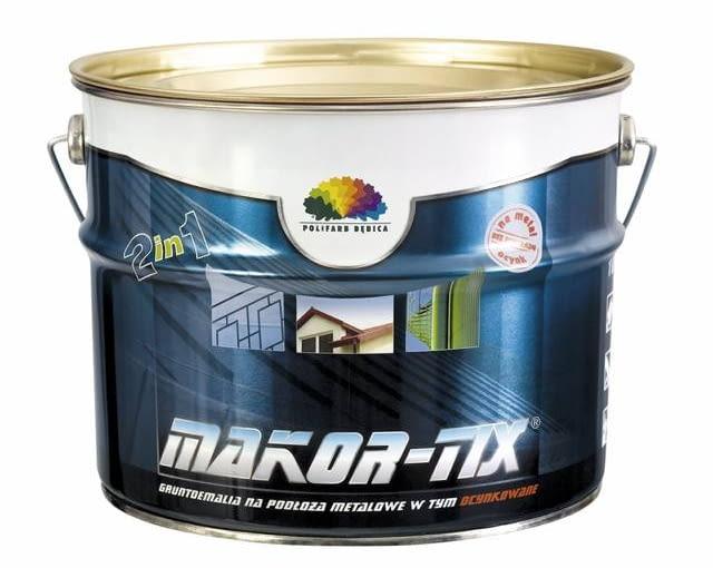 Makor-tix gruntoemalia na podłoża metalowe w tym ocynkowane 52 zł/l