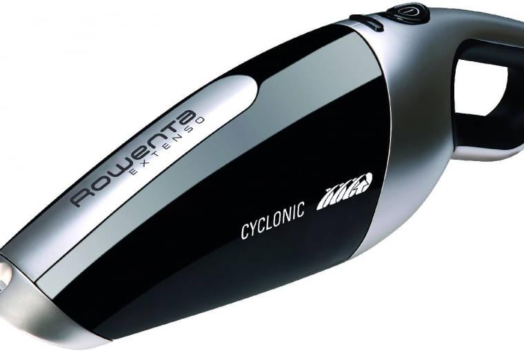 Odkurzacz akumulatorowy Extenso Cyclonic AC 4769, poj. zbiornika na kurz 350 ml, filtr HEPA, około 283 zł, Rowenta