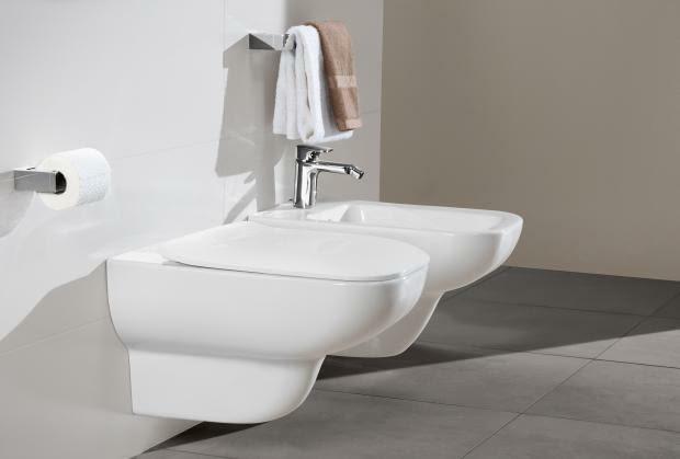 ceramika sanitarna, w.c. podwieszany, bidet podwieszany, łazienka