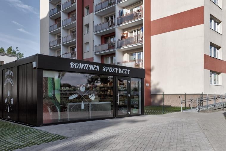 Kontener spożywczy w Poznaniu
