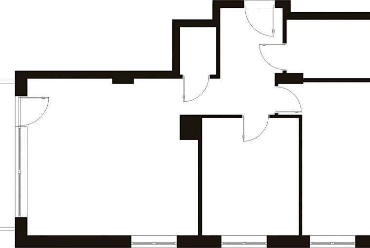 Plan mieszkania: 71,5 m kw., 3 pokoje dla 3 osób