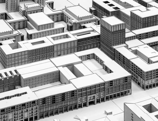Projekt Placu Defilad według studentów wydziału architektury szwajcarskiej szkoły wyższej ZHAW